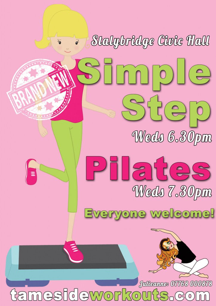 Step and Pilates Classes in Stalybridge