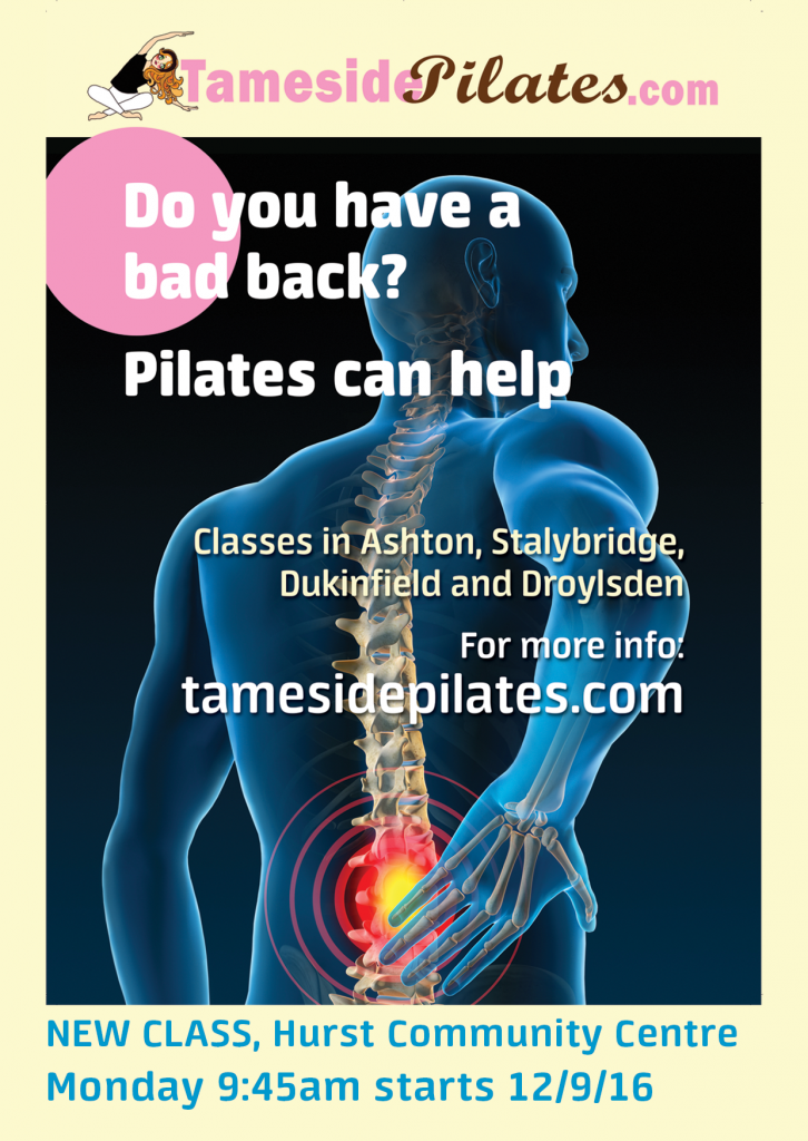 New pilates class starting soon at Hurst Community Centre