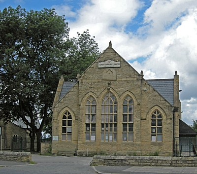 Hurst Community Centre, Kings Road, Ashton under Lyne, home of Tameside Pilates and Fitness workouts