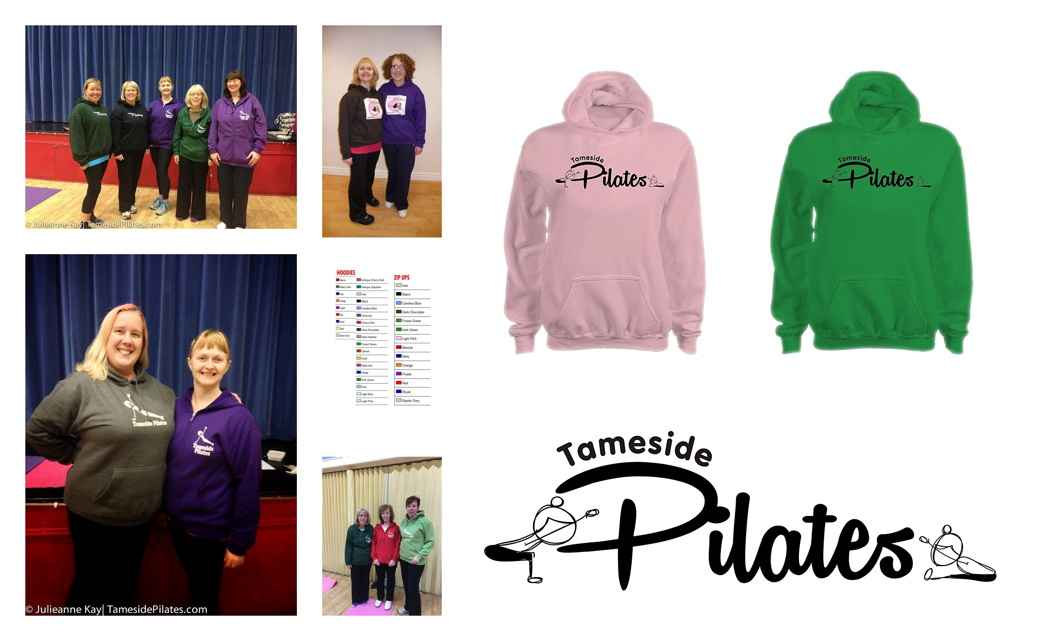 hoodies at Tameside Pilates